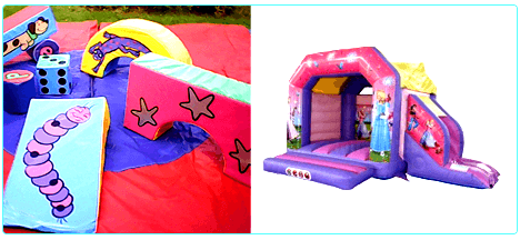 Soft_Play_Shapes_Adult_Bouncy_Castle_Hire_Surrey_Guildford_Small_Slides
