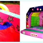 Surrey_Soft_PLay_shapes_Bouncy_Disco_Castle_Surrey_Woking