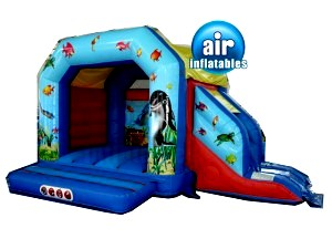 Under Water Combo Bouncy Castle