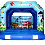 Underwater Bouncy Caslte 12ft x12ft