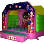 12ft Disco Bouncy Castle
