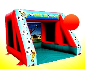Football Shootout Bouncy Castle